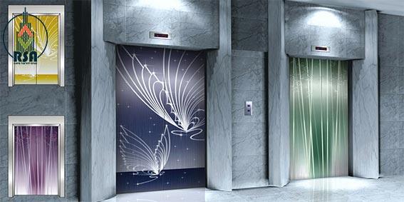 درب آسانسور اتوماتیک