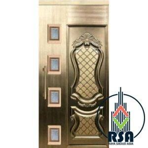 قیمت درب آسانسور لولایی طرح دیپلمات