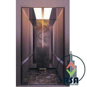 قیمت کابین آسانسور استیل کد3503